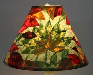 Printmaking & Lampshade Collage