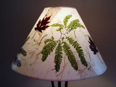 Maidenhair Fern Lampshade © Janet Woodcock 2005