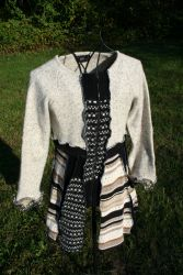 Upcycled Sweater Coat