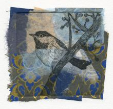 Chickadee, blue